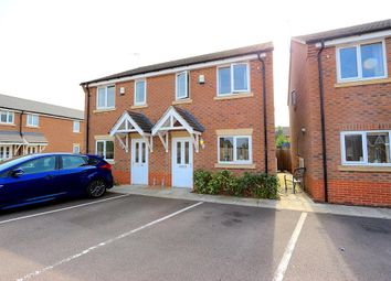 Thumbnail 2 bed semi-detached house for sale in Maple Close, Glenfield, Leicester