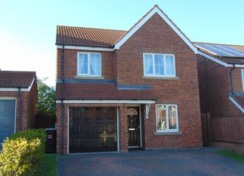 Thumbnail 4 bed detached house for sale in Meadowfield, Burnhope, Durham