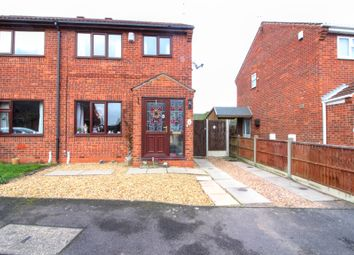 Thumbnail 3 bed semi-detached house for sale in Pingle Close, Gainsborough