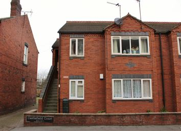 Thumbnail 2 bed flat for sale in Cambridge Street, Castleford