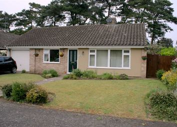 Thumbnail 3 bed bungalow for sale in Edgeborough Close, Kentford, Newmarket