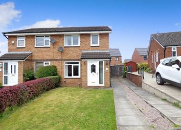 Thumbnail 3 bed semi-detached house for sale in Kinloch Close, Crewe