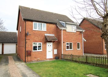 Thumbnail 2 bed semi-detached house for sale in Anglian Way, Market Rasen, Lincolnshire