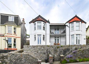 Thumbnail 1 bed flat for sale in Glenlea, 27 Beech Terrace, West Looe, Cornwall