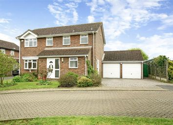 Thumbnail 4 bed detached house for sale in Eaton Socon, St Neots, Cambridgeshire