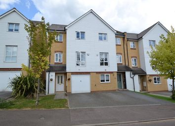 Thumbnail 4 bed town house for sale in Christian Close, Hoddesdon