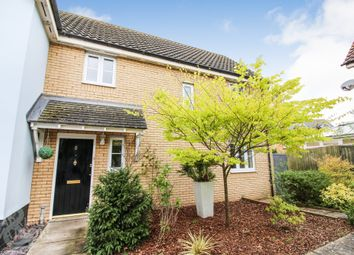 Thumbnail 3 bed semi-detached house for sale in Folkard Close, Long Stratton, Norwich