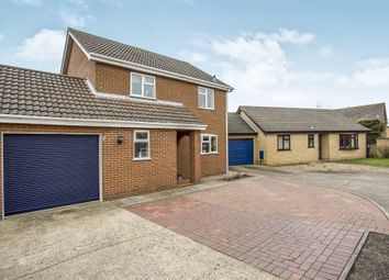 Thumbnail 4 bed detached house for sale in Iris Close, Attleborough