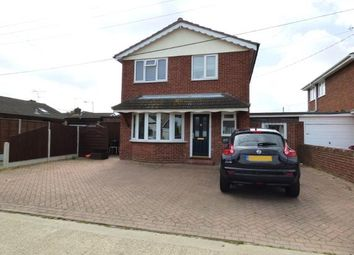 Thumbnail 3 bed detached house for sale in Caro Road, Canvey Island