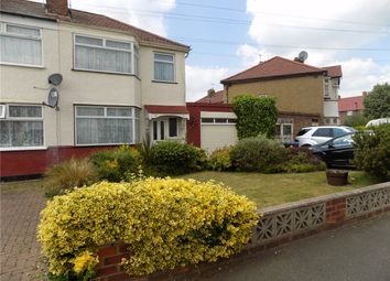 Thumbnail 3 bed semi-detached house for sale in Cowdrey Close, Enfield