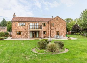 Thumbnail 6 bed detached house for sale in Tetley, Crowle, Scunthorpe