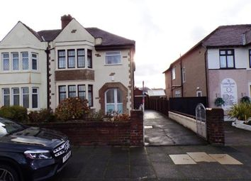 Thumbnail 4 bed semi-detached house for sale in Shaftesbury Avenue, Blackpool, Lancashire