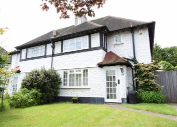 Thumbnail 3 bed semi-detached house to rent in Fairway, Petts Wood, Orpington
