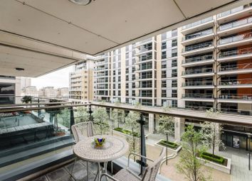 Thumbnail 2 bedroom flat for sale in Harbour Reach, Imperial Wharf