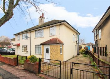 Thumbnail 3 bedroom semi-detached house for sale in Manor Road, Swanscombe