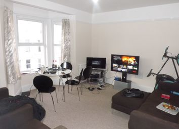Thumbnail 4 bed flat to rent in Nightingale Road, Southsea