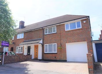 Thumbnail 4 bedroom end terrace house for sale in Rushton Avenue, Watford