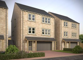 Thumbnail 4 bed detached house for sale in Laund Croft, Salendine Nook, Huddersfield