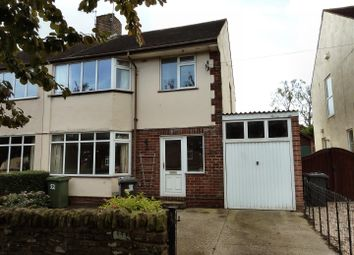 Thumbnail 3 bed semi-detached house to rent in Lea Rd, Dronfield