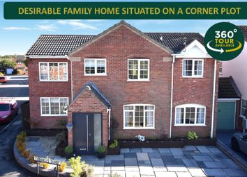 Thumbnail 5 bed detached house for sale in Cobwells Close, Fleckney, Leicester