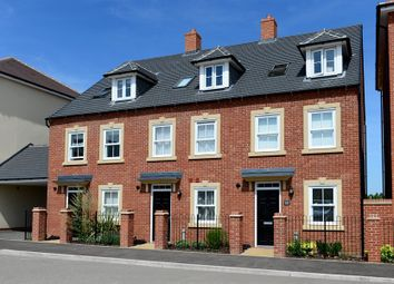 Thumbnail 4 bed end terrace house for sale in The Helmsley, King Alfred Way, Great Denham