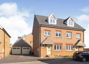 Thumbnail 4 bed semi-detached house for sale in Furs Close, Monkton Heathfield, Taunton