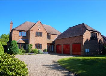 Thumbnail 5 bed detached house for sale in Casthorpe Road, Grantham