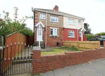 Thumbnail 3 bedroom semi-detached house for sale in Attlee Grove, Ryhope, Sunderland