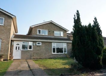 Thumbnail 4 bed link-detached house for sale in Lamble Close, Beck Row