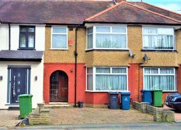 Thumbnail 3 bed terraced house for sale in Brampton Grove, Harrow