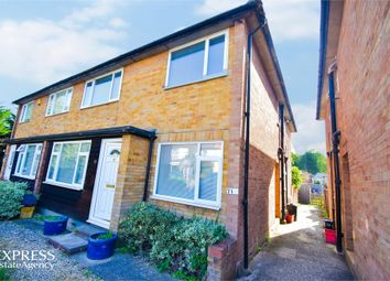 Thumbnail 2 bed maisonette for sale in Wash Road, Hutton, Brentwood, Essex