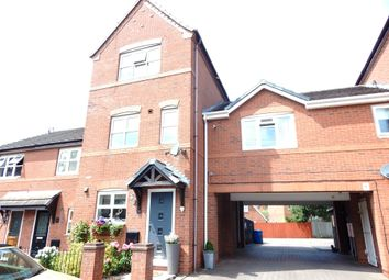 Thumbnail 3 bed town house for sale in Gullick Way, Burntwood