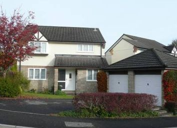 Thumbnail 4 bed detached house to rent in Slipperstone Drive, Ivybridge