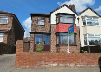 Thumbnail 3 bed semi-detached house for sale in Chelwood Avenue, Childwall, Liverpool, Merseyside