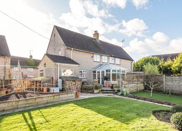 Thumbnail 3 bed semi-detached house for sale in The Green, Quenington, Cirencester