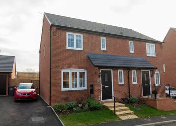 Thumbnail 3 bed semi-detached house to rent in Farmers Way, Rothley