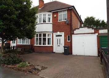 Thumbnail 3 bed semi-detached house for sale in Aberdale Road, Leicester, Leicestershire