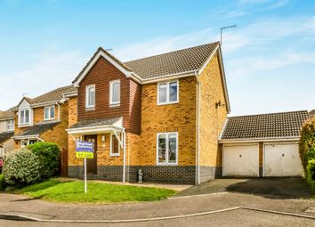 Thumbnail 4 bed detached house for sale in Barnwell Close, Thrapston, Kettering