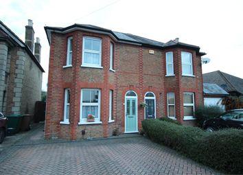 Thumbnail 3 bedroom semi-detached house for sale in Chertsey Road, Ashford, Surrey