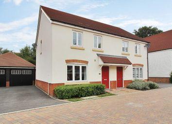 Thumbnail 3 bed semi-detached house for sale in Wells Croft, Wickhurst Green, Broadbridge Heath