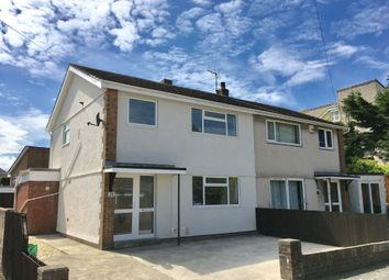 Thumbnail 3 bed semi-detached house to rent in Heol-Fair, Porthcawl