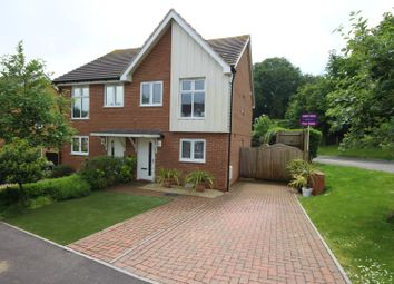 Thumbnail 2 bed semi-detached house for sale in Elysium Park Close, Dover