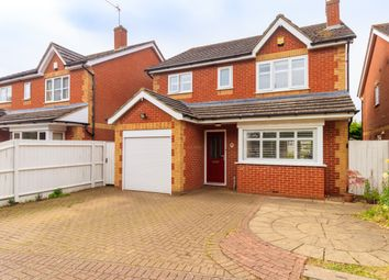 Thumbnail 4 bed detached house for sale in Cumberland Drive, St. Albans