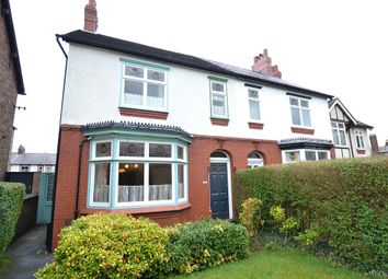 Thumbnail 4 bed semi-detached house for sale in Park Lane, Macclesfield, Cheshire