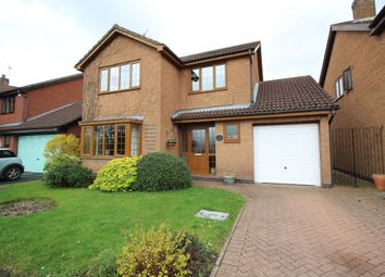 Thumbnail 4 bed detached house for sale in The Willows, Bedworth