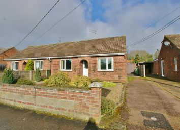 Thumbnail 1 bed semi-detached bungalow for sale in Park Road, Spixworth, Norwich