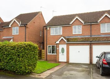 Thumbnail 3 bed semi-detached house for sale in Chatsworth Avenue, Strensall, York