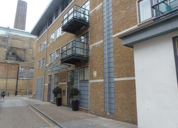 Thumbnail 1 bed flat to rent in Merchants House, Collington Street, London