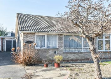 Thumbnail 2 bed semi-detached bungalow for sale in Harcourt Close, Bishopthorpe, York