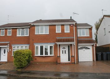 Thumbnail 3 bed semi-detached house to rent in Kings Way, Groby, Leicester